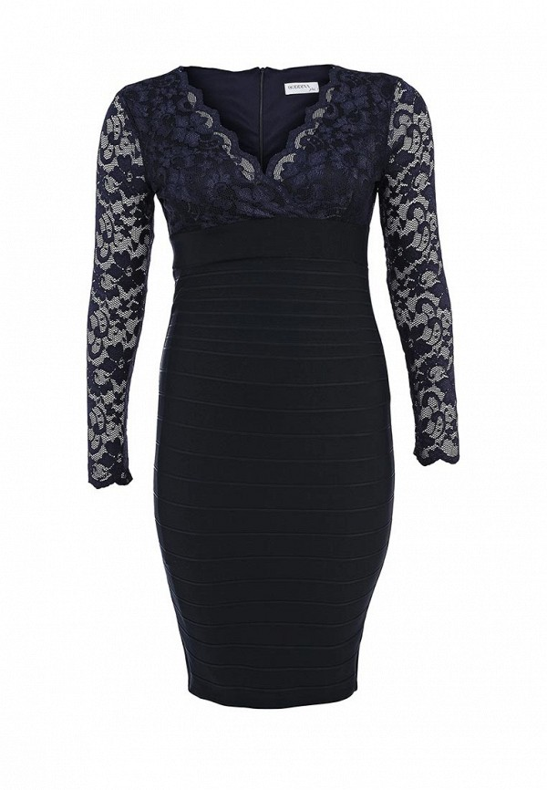 Платье Goddiva Size Plus DR290