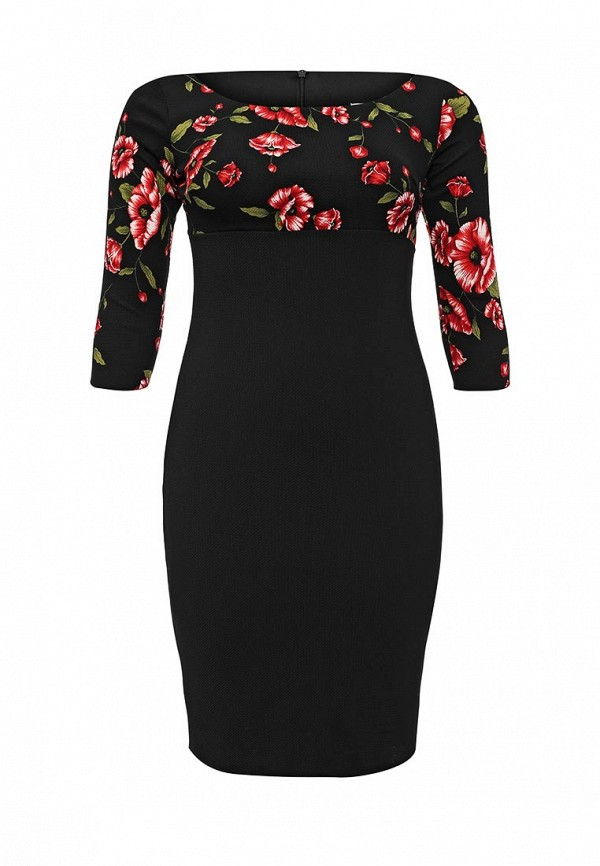 Платье Goddiva Size Plus Goddiva Size Plus GO015EWMPL83 платье goddiva size plus goddiva size plus go015ewgvj00