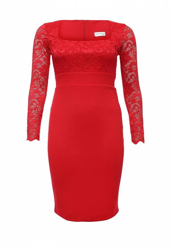 Платье Goddiva Size Plus Goddiva Size Plus GO015EWMPL98