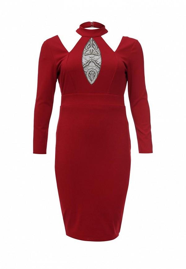 Платье Goddiva Size Plus Goddiva Size Plus GO015EWRAE49