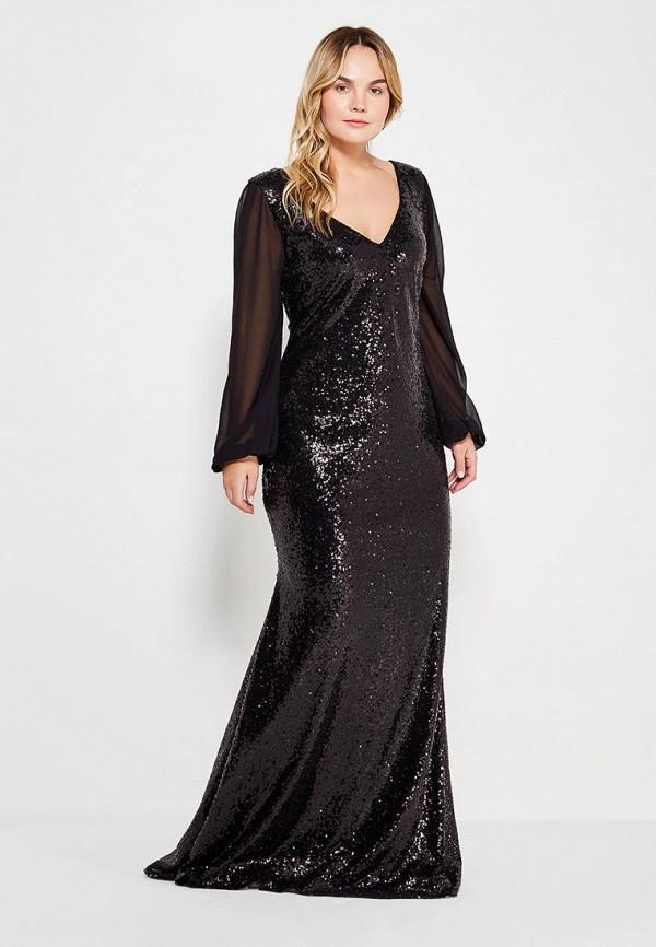 Платье Goddiva Size Plus Goddiva Size Plus GO015EWXRA70 купальник goddiva goddiva go014ewrag14