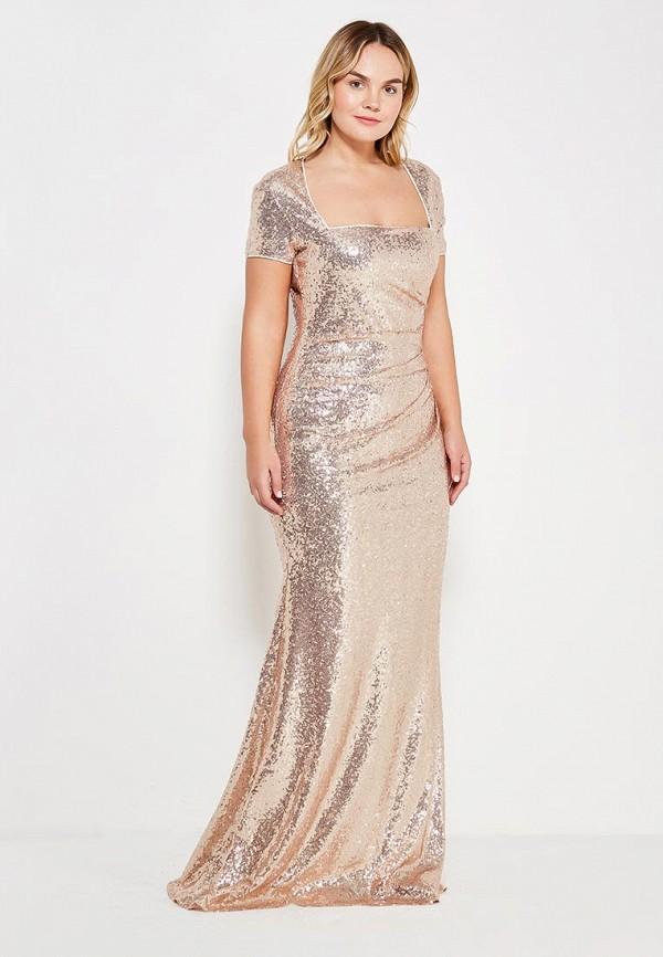 Платье Goddiva Size Plus Goddiva Size Plus GO015EWXRA75 платье goddiva size plus goddiva size plus go015ewmpl95
