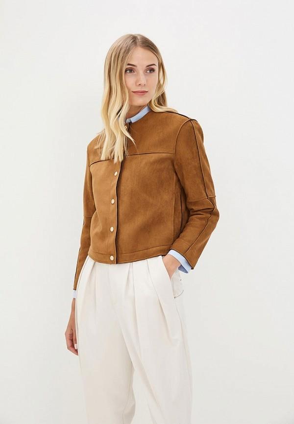 Купить Куртка кожаная GOA, GO028EWBMQS4, коричневый, Весна-лето 2018