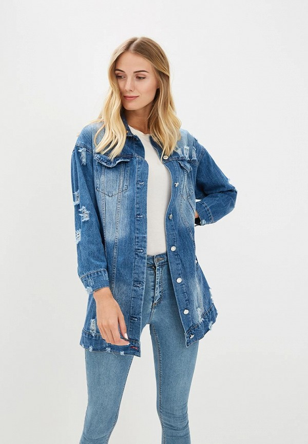 Куртка джинсовая GOA GOA GO028EWBMQS9