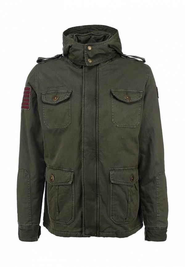 Куртка утепленная Goodyear. Цвет: хаки