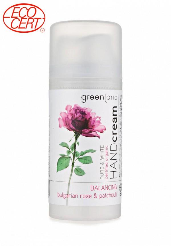 Крем для рук Greenland болгарская роза-пачули
