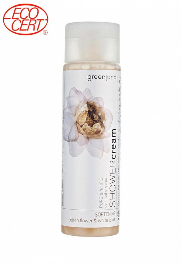 Здесь можно купить цветки хлопка-белый лотос  Крем для душа Greenland Красота