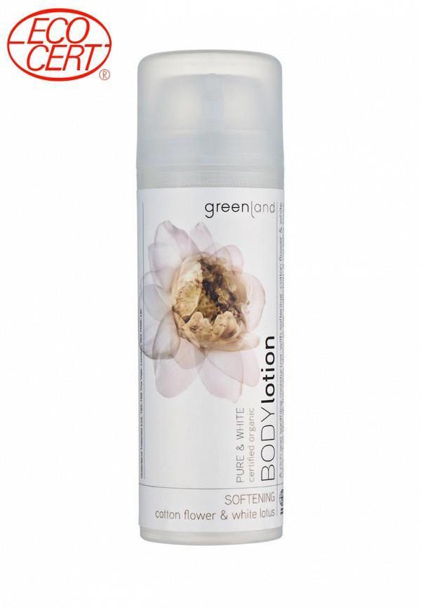 Крем для тела Greenland цветки хлопка-белый лотос