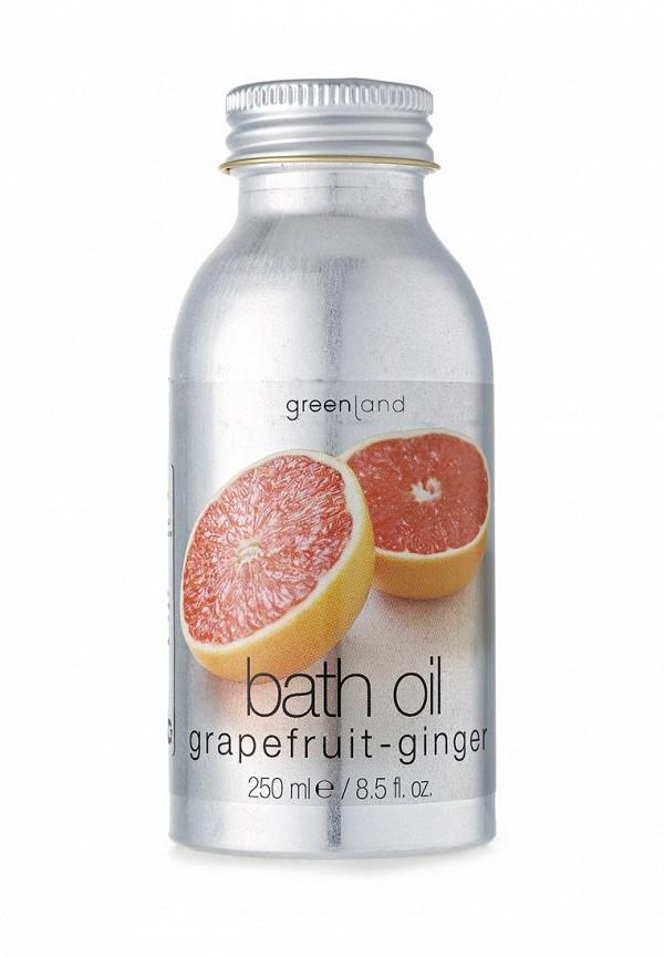 Масло Greenland для ванны грейпфрут-имбирь