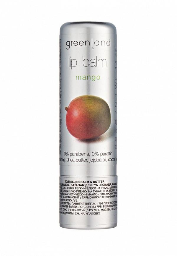 Бальзам для губ Greenland манго