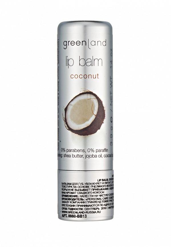 Бальзам для губ Greenland кокос