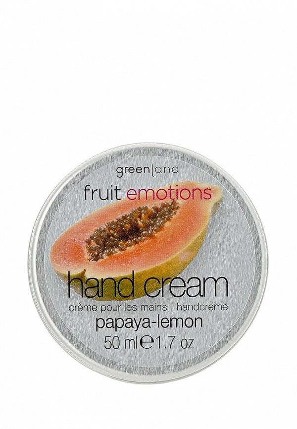 Крем для рук Greenland для рук, папайя-лимон