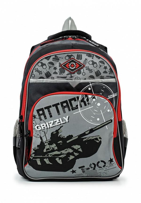 Рюкзак Grizzly Grizzly GR015BBUHX40 чемодан grizzly цвет фиолетовый черный 40 л lt 595 20 3