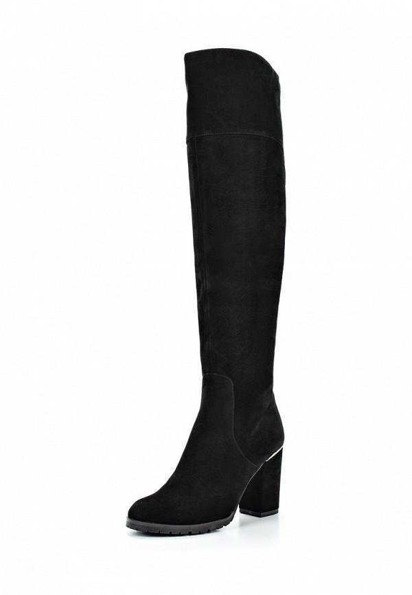 Черные осенние ботфорты Grand Style