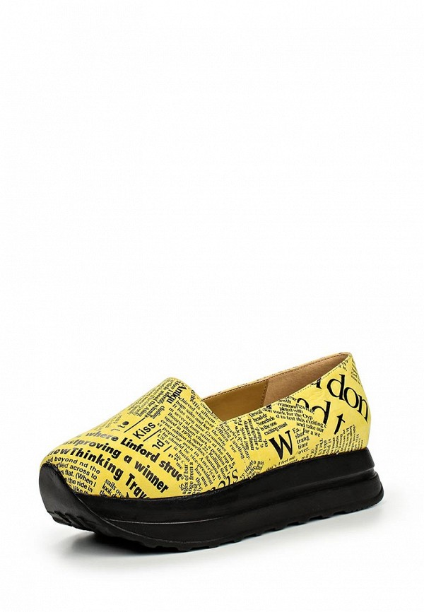 Туфли на платформе Grand Style D16YA-3495-1