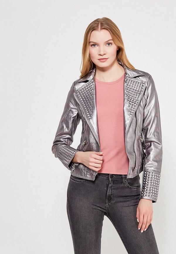 Куртка кожаная Grand Style Grand Style GR025EWAGEK3 j фаска grand line коричневая