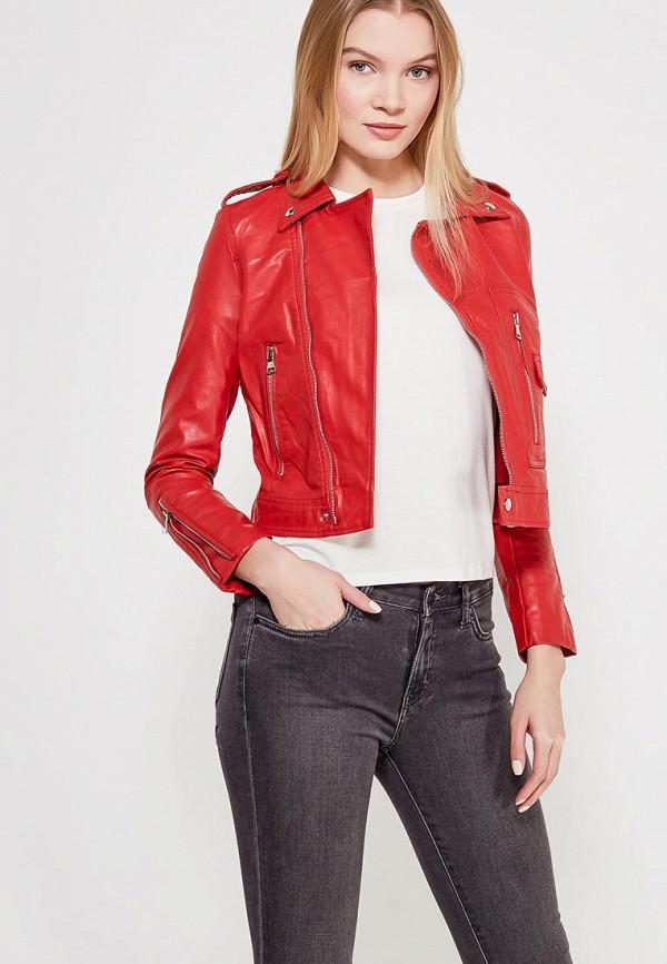 Куртка кожаная Grand Style Grand Style GR025EWAGEM4 лоферы grand style grand style gr025awwix42