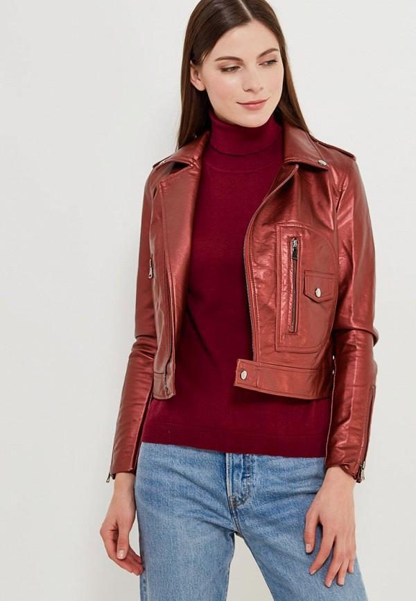 Куртка кожаная Grand Style Grand Style GR025EWAGEM6 j фаска grand line коричневая