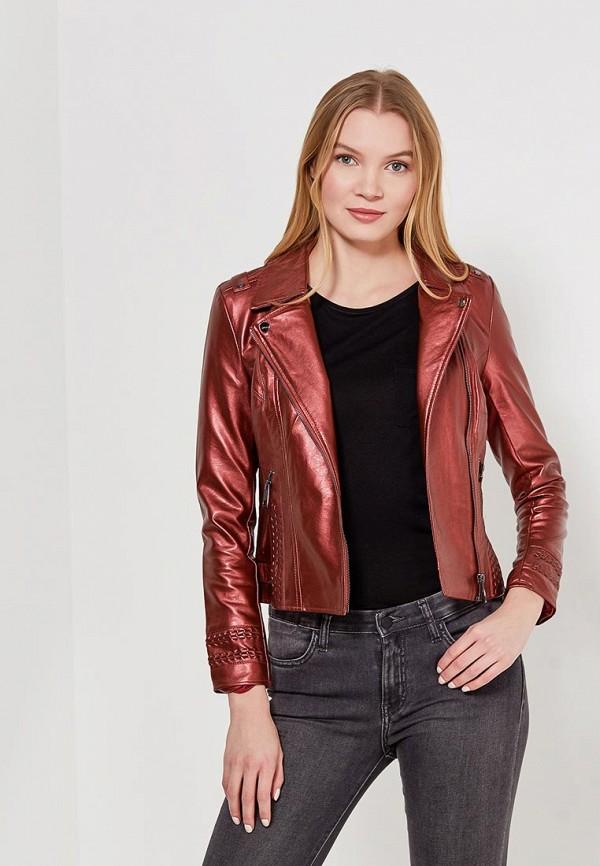 Куртка кожаная Grand Style Grand Style GR025EWAJGU3 j фаска grand line коричневая