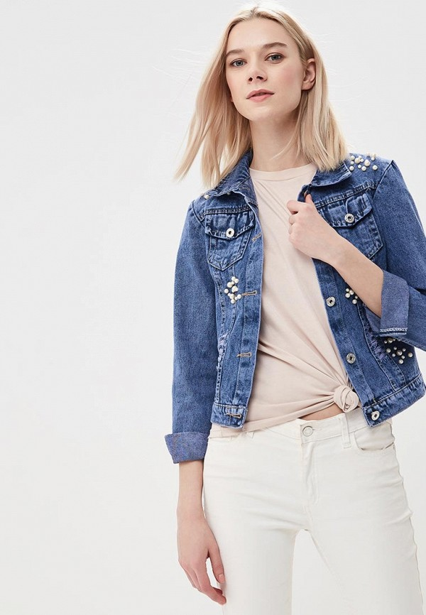 Куртка джинсовая Grand Style Grand Style GR025EWBDFG3 j фаска grand line коричневая