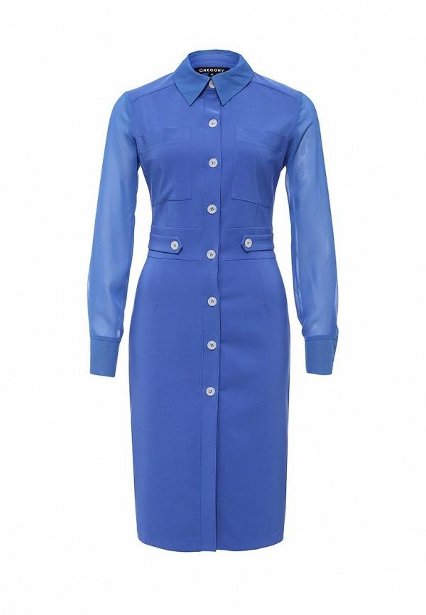 Платье-миди Gregory W168DR1