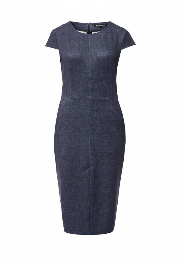 Платье-миди Gregory W148DR1