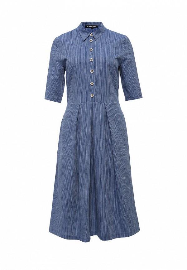 Платье-миди Gregory W081DR2