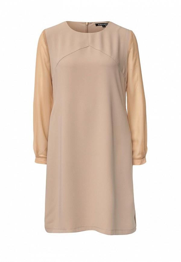 Платье-миди Gregory W276DR1