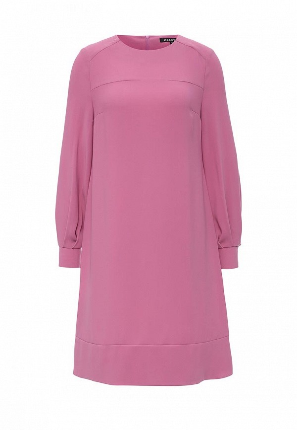 Платье-миди Gregory W277DR1
