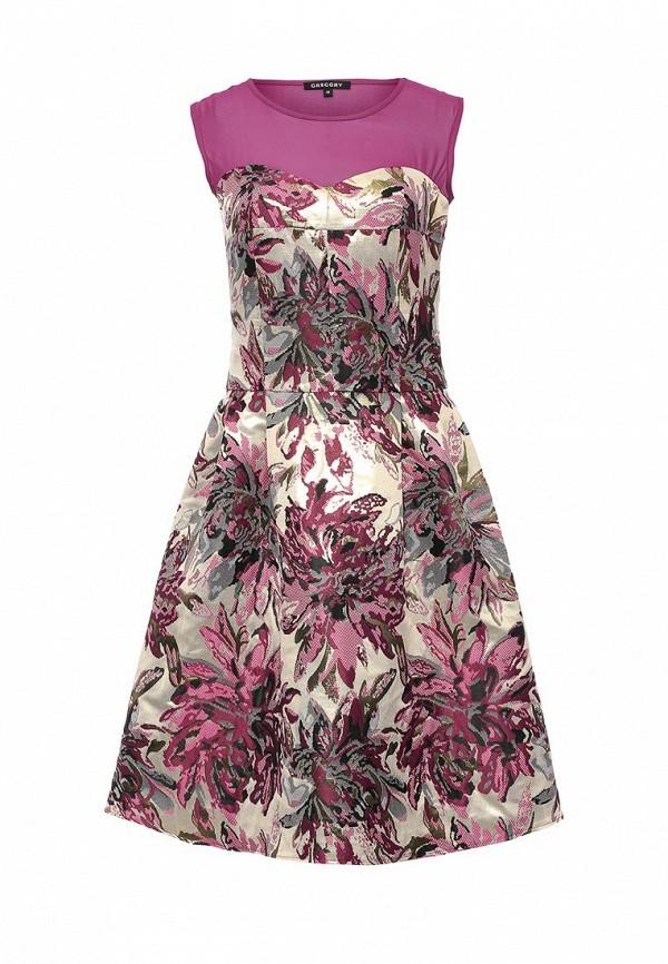Платье-миди Gregory W292DR1