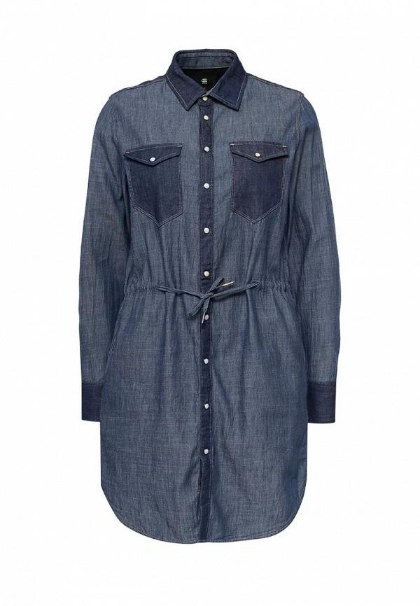 Платье джинсовое G-Star D04079