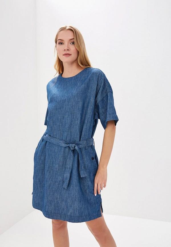 Платье джинсовое G-Star G-Star GS001EWZIG64 платье g star g star gs001ewujc68