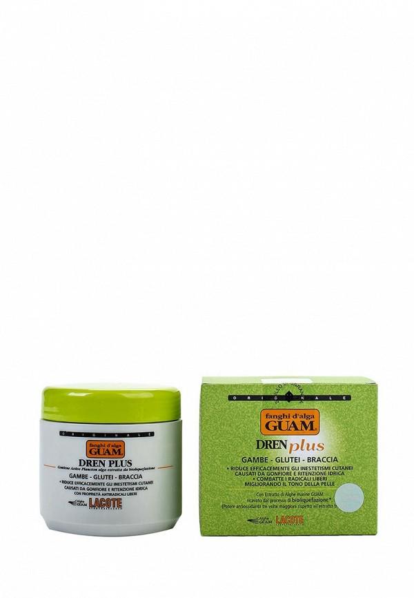 Антицеллюлитная маска Guam антицеллюлитная с дренажным эффектом DREN PLUS, 500 гр
