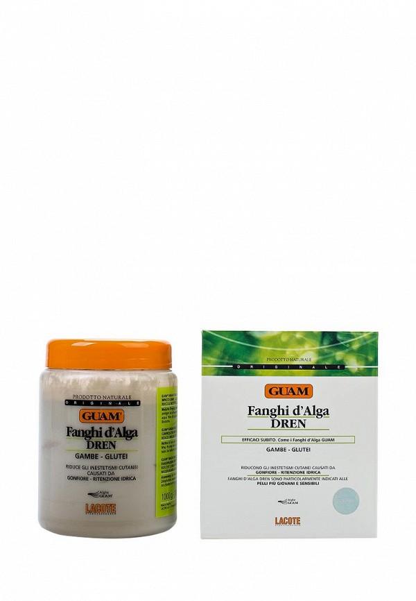 Антицеллюлитная маска Guam антицеллюлитная с дренажным эффектом DREN, 1000 гр