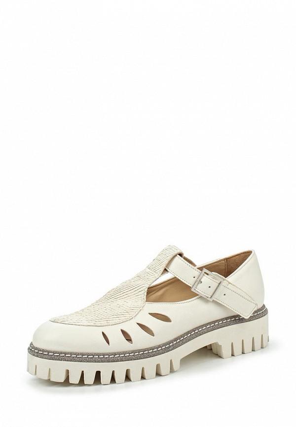 Туфли на плоской подошве Alberto Guardiani GD34018B