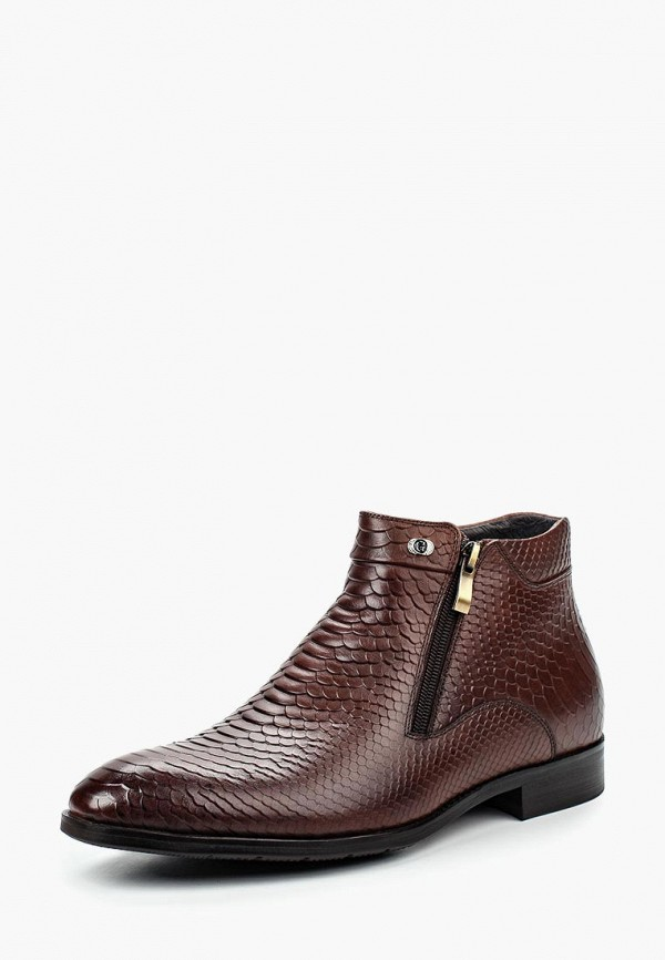 Купить Ботинки Guido Grozzi, GU014AMLRJ42, коричневый, Осень-зима 2017/2018