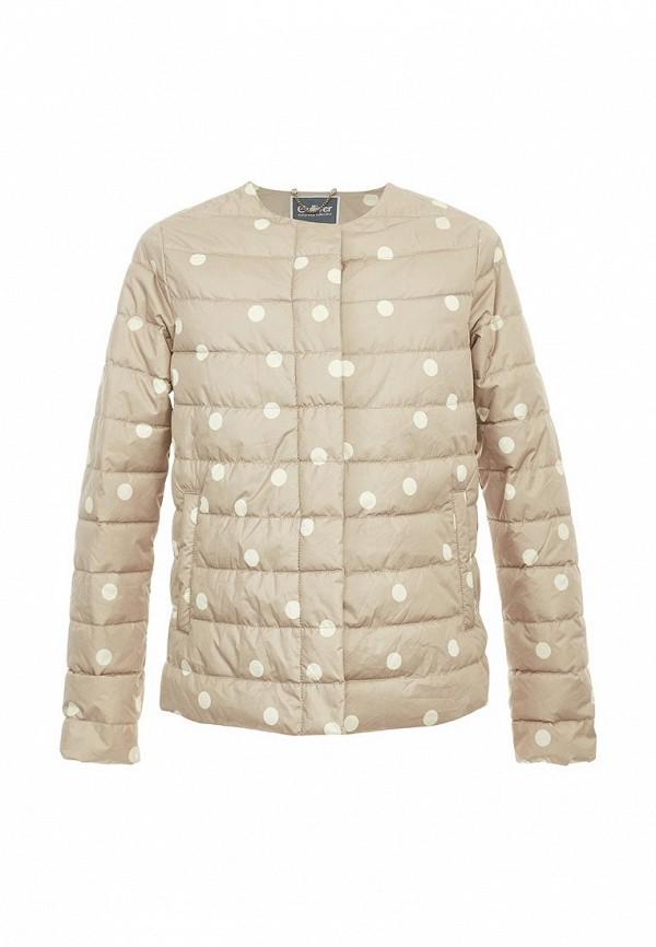 Купить Куртка утепленная Gulliver, GU015EGATAN3, бежевый, Весна-лето 2018