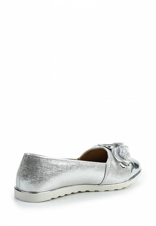 Женская обувь серебристого цвета