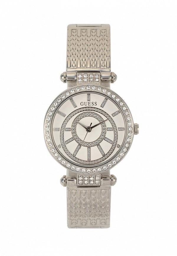 Купить Часы Guess, W1008L1, серебряный, Весна-лето 2018