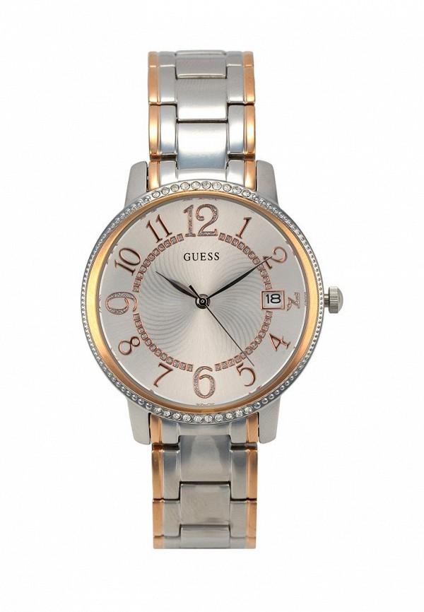 Купить Часы Guess, W0929L3, серебряный, Весна-лето 2018