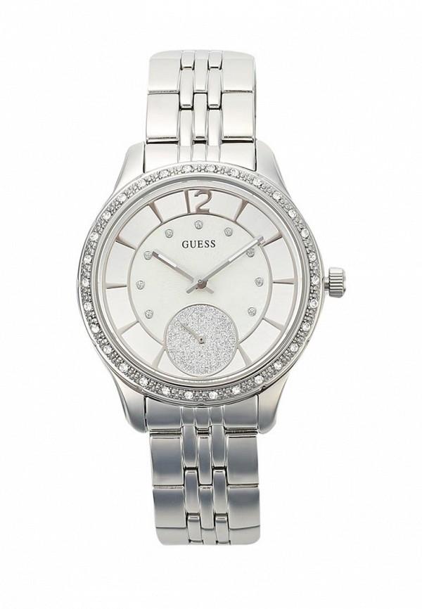 Купить Часы Guess, W0931L1, серебряный, Весна-лето 2018