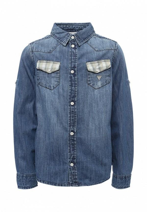 все цены на Рубашка джинсовая Guess Guess GU460EBUTS09 онлайн