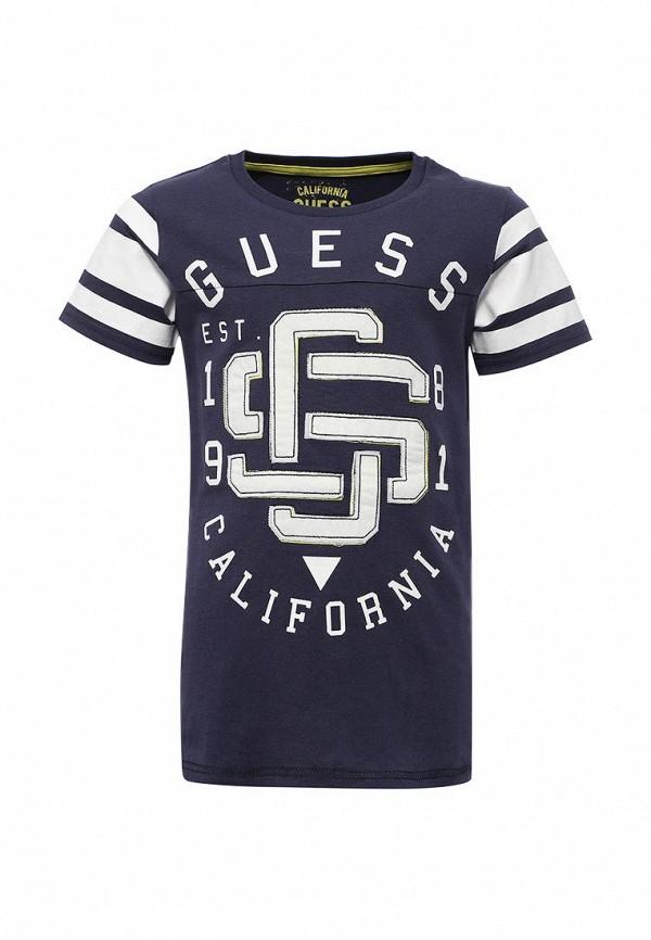 все цены на Футболка Guess Guess GU460EBVPK16 онлайн