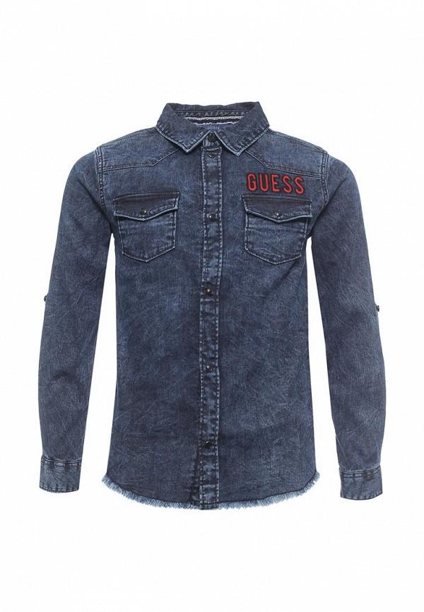 Фото Рубашка джинсовая Guess. Купить с доставкой