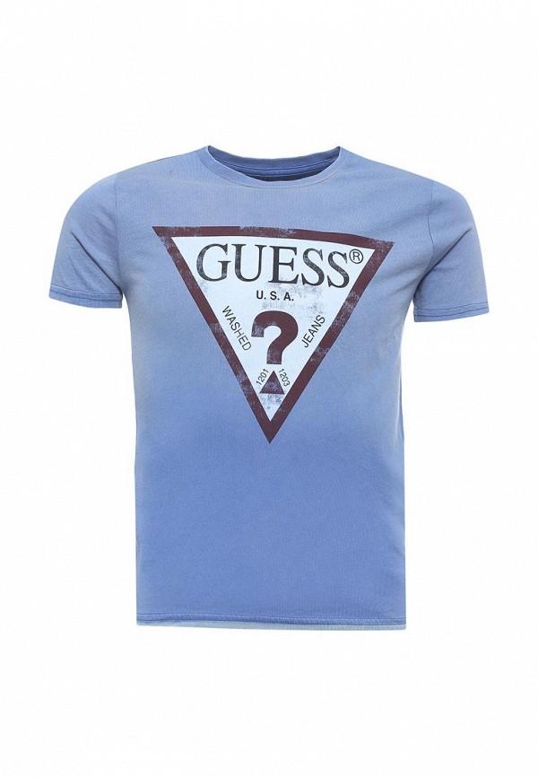 Футболка Guess Guess GU460EBZNF12 футболка guess w73p67 k5i90 m92