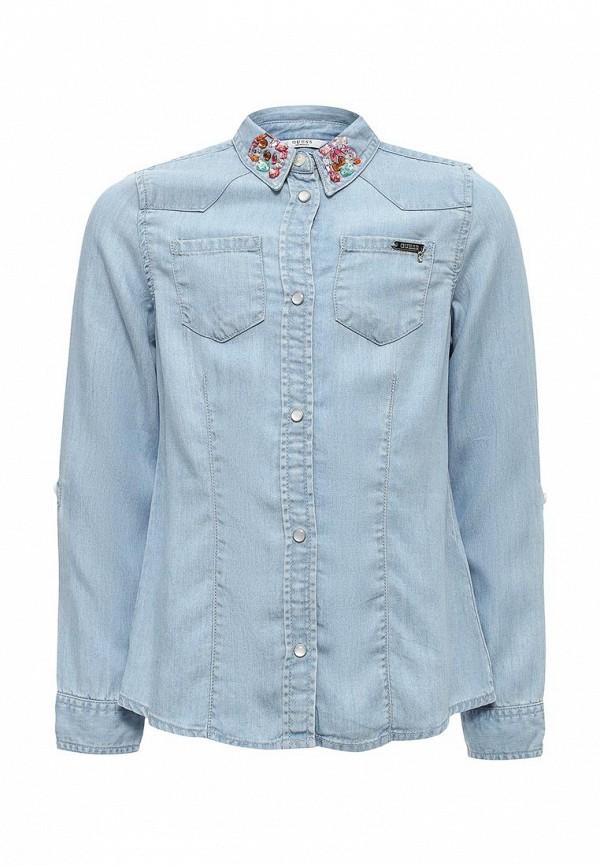 Рубашка джинсовая Guess Guess GU460EGUTS10 рубашка guess w81h01 w7zk0 a000