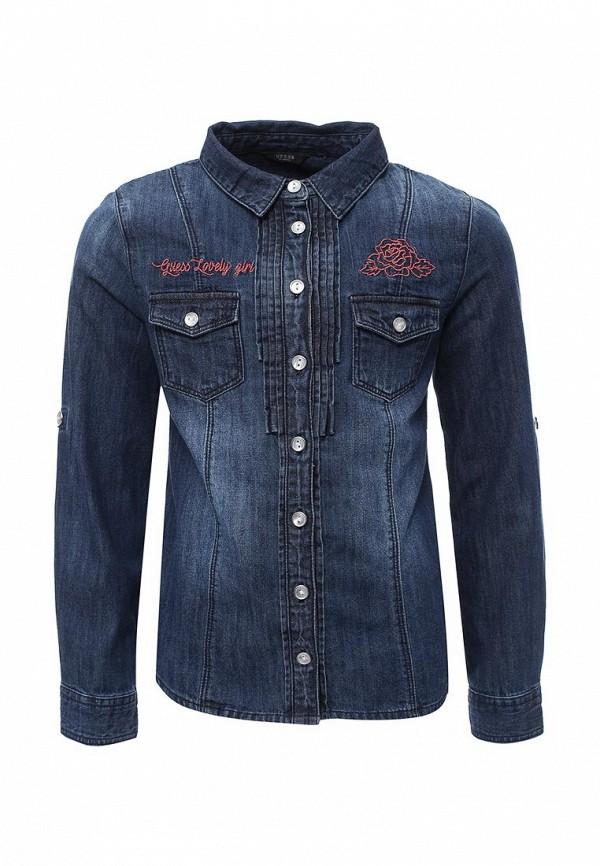 Рубашка джинсовая Guess Guess GU460EGXKG43 рубашка guess w81h01 w7zk0 a000