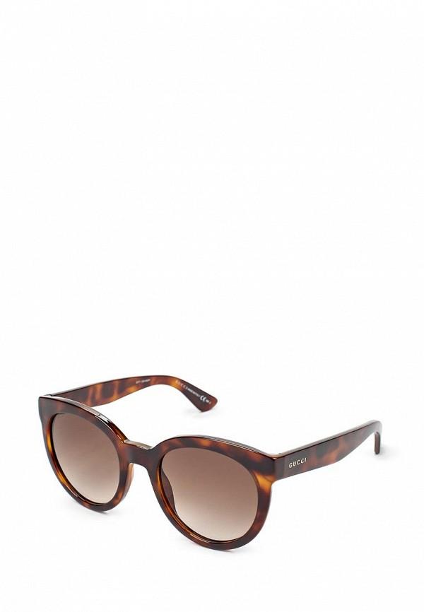 Очки солнцезащитные Gucci Gucci GU641DWJED35 очки солнцезащитные gucci gg 3810 s d28
