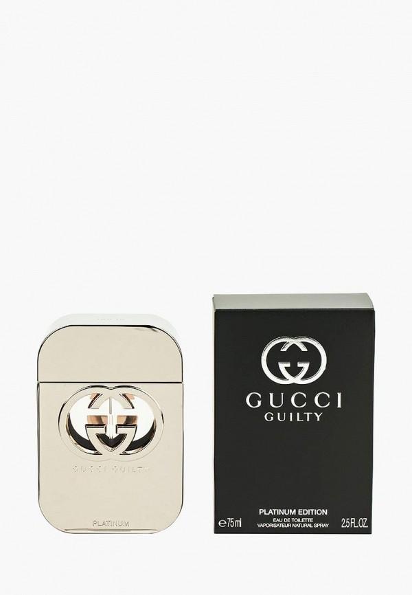 Купить Туалетная вода Gucci, Guilty Platinum 75 мл, GU641LWNUK83, Весна-лето 2018