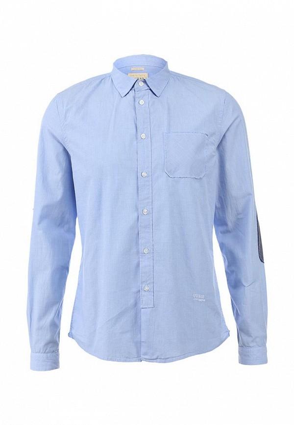 Рубашка с накладным карманом Guess Jeans